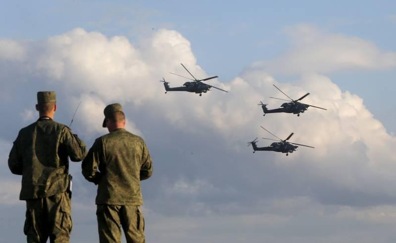 Российские войска блокировали продвижение турецкой армии