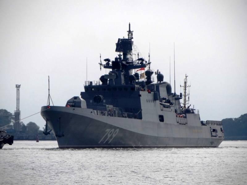 Борисов: сроки поставки двух новых фрегатов могут быть сорваны по вине «Алмаз-Антея»