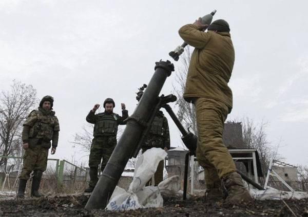 ВСУ нарушили режим прекращения огня спустя час  с момента начала его действия