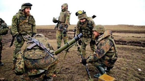 """Трое военнослужащих ВСУ погибли в результате разрыва украинского миномёта """"Молот"""""""