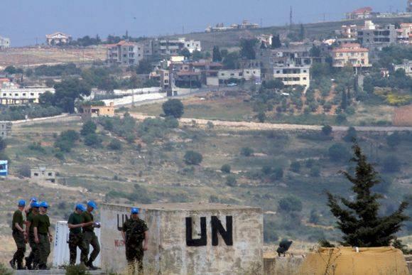 레바논 - 이스라엘 국경에 파견 된 핀란드 평화 유지군 파견