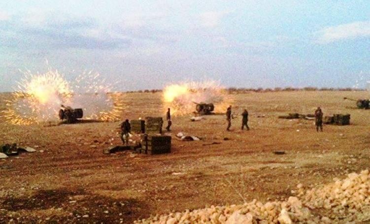 Армия САР сняла блокаду с христианского города Мхарде и начала наступление на севере провинции Хама