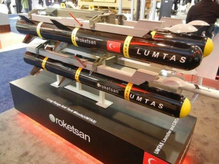 Турецкая компания разработала новые противотанковые управляемые ракеты