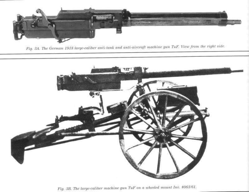 История противотанковых ружей
