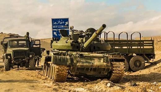 Списанные российские Т-62М востребованы в Сирии