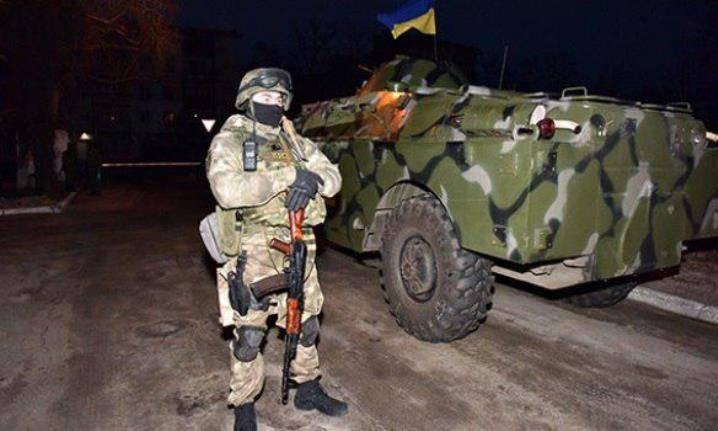 В контролируемых Киевом районах Донбасса введен режим КТО