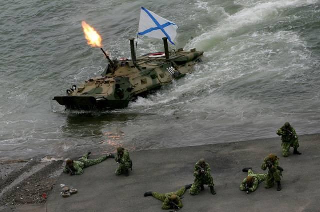 В России планируют создать БММП – боевую машину морской пехоты
