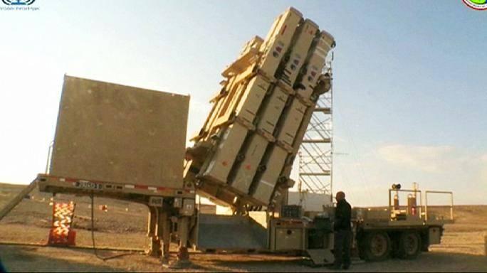 이스라엘 최초의 데이비드 슬링 미사일 방어 시스템 출시