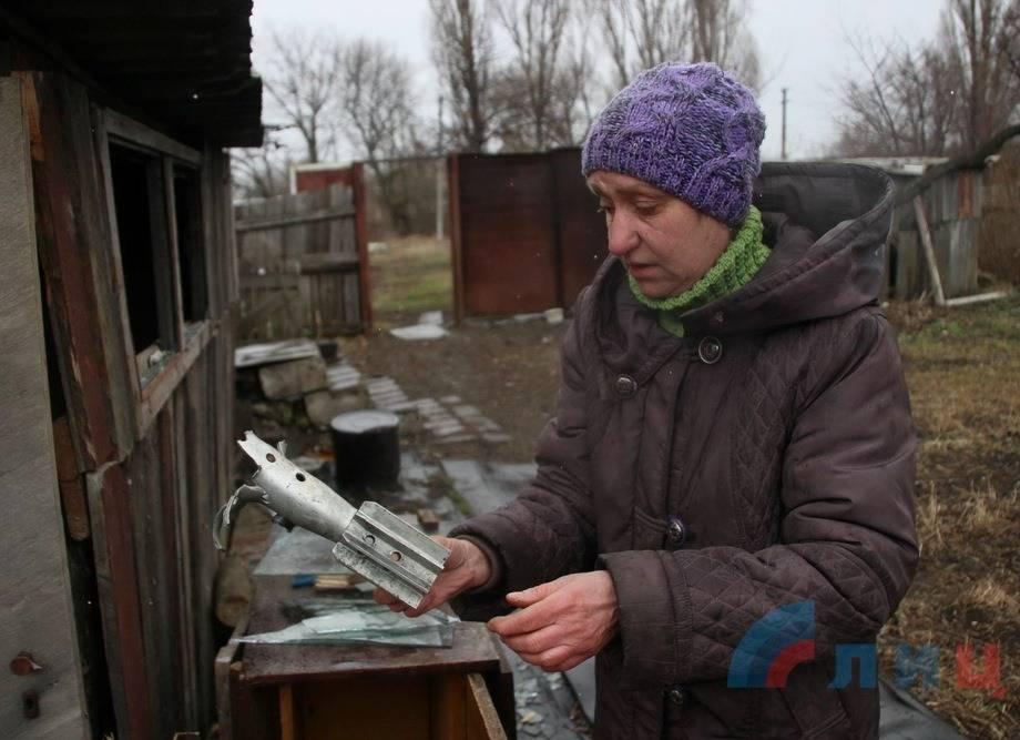 Украинские силовики обстреляли район Первомайска вЛНР