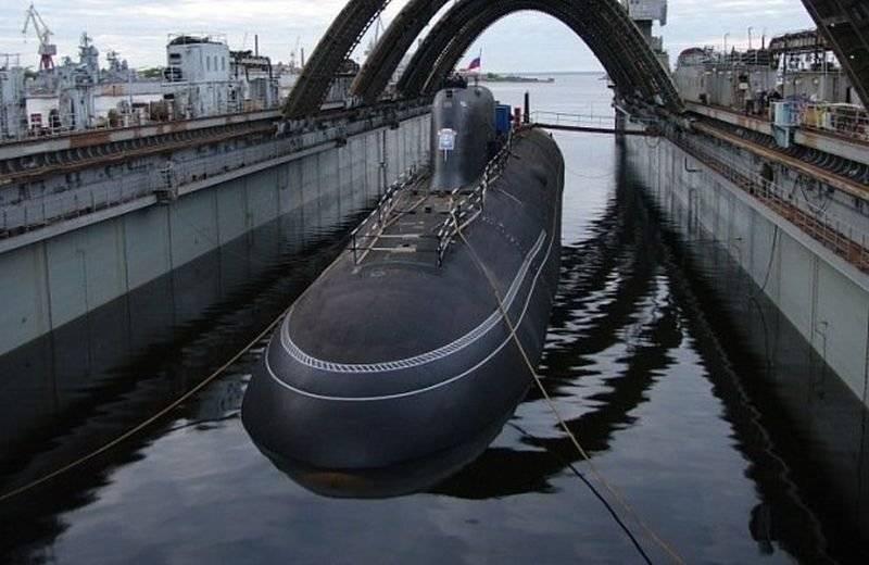 ВМФ РФ в 2018 году получит две атомные субмарины