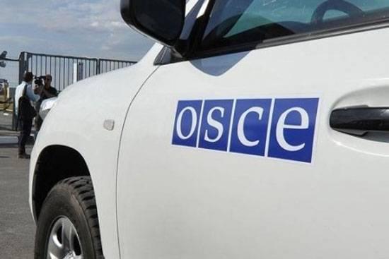 Украинская сторона использует автомобили с символикой ОБСЕ в Донбассе