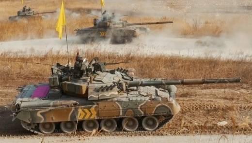 Т-80 и БМП-3 на вооружении армии Южной Кореи