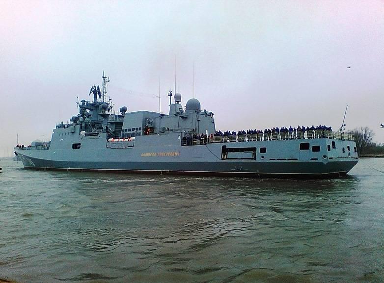 Турецкие моряки посетят в Новороссийске новейшие корабли