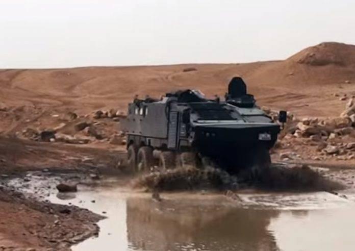 Армия Иордании вооружится БТР собственной разработки