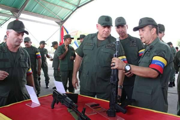 Венесуэла ускорила строительство заводов по производству автоматов Калашникова
