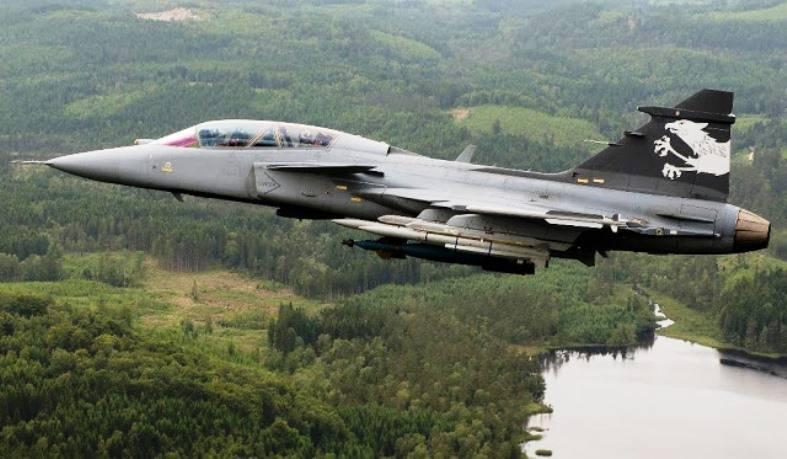 Борцы за мир мешают Швеции продать истребители Колумбии
