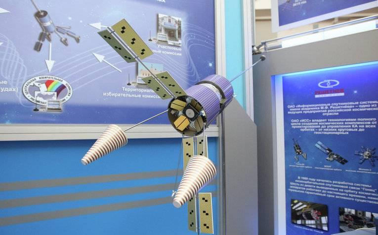 ИСС поставит в этом году 6 спутников для обновления системы связи «Гонец»
