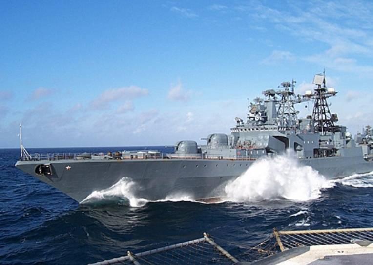 БПК «Адмирал Виноградов» отработал в Японском море задачи по уничтожению подлодки противника