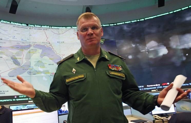 МО РФ опровергает ложные сведения о нанесении самолётами ВКС РФ ударов по Хан-Шейхуну (Сирия)