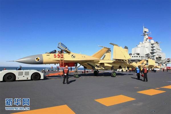 Авиакрыло строящегося авианосца ВМС НОАК составят до 36 истребителей