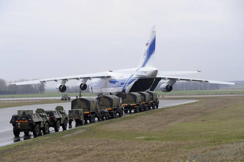 Во Франции отметили критическую зависимость военных авиаперевозок от России