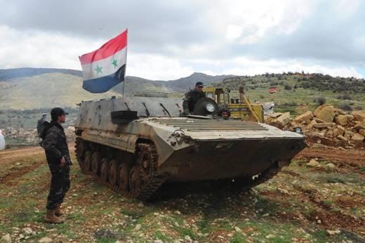 Чехословацкие медицинские машины AMB-S в Сирии