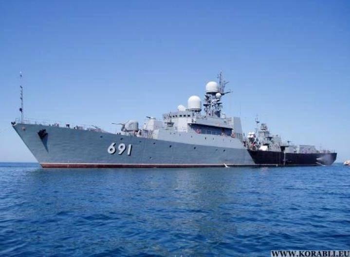 Каспийская флотилия приступила к учениям