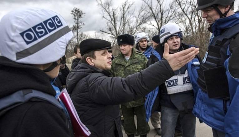 Наблюдатели ОБСЕ и офицеры СЦКК попали под обстрел киевских силовиков