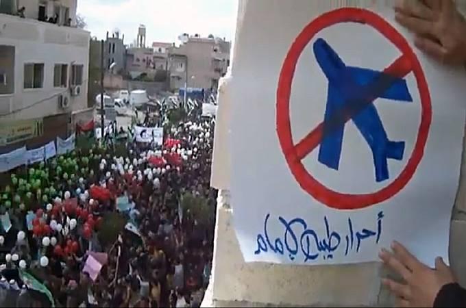 Оппозиция Сирии выступила за введение бесполетной зоны над всей Сирией