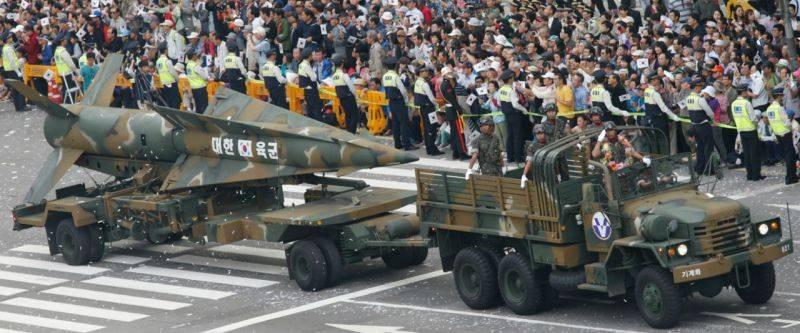 Южная Корея запустила новую баллистическую ракету Hyunmoo-2C