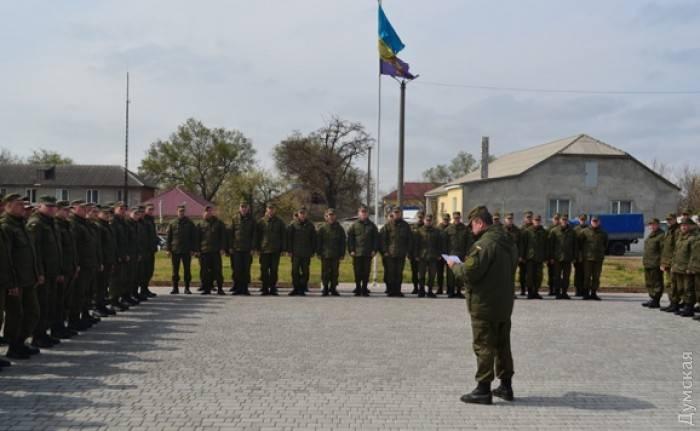 В одесский Болград введены дополнительные силы национальной гвардии