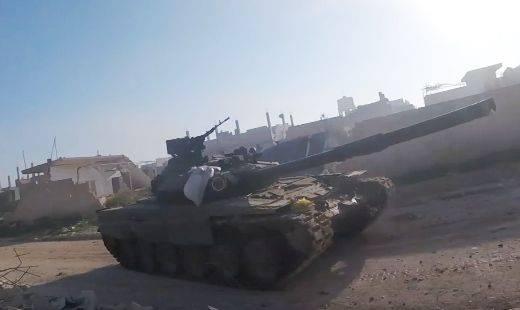 Трофейный Т-90А помог боевикам в Сирии захватить Маардес