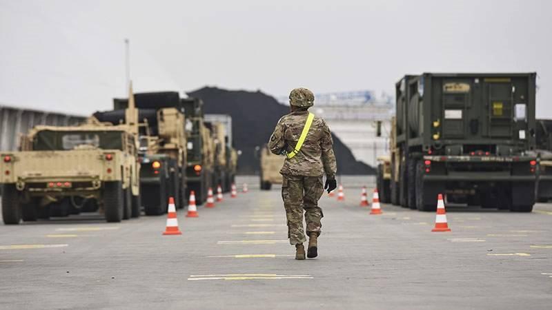 Скапаротти призвал Пентагон разместить в Европе полноценную бронетанковую дивизию