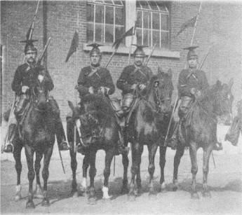 Конница на Французском фронте в 1914 году