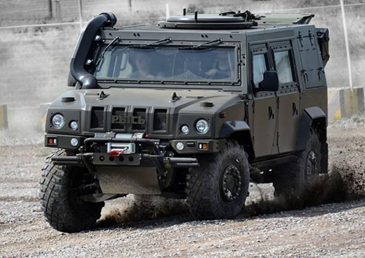Разведподразделения ВДВ получат в апреле более 40 бронеавтомобилей «Рысь»
