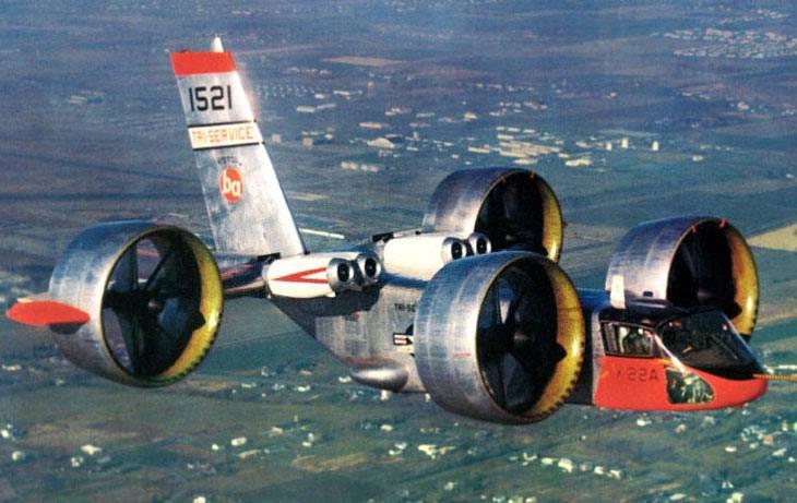 Конвертоплан Bell X-22 (США)