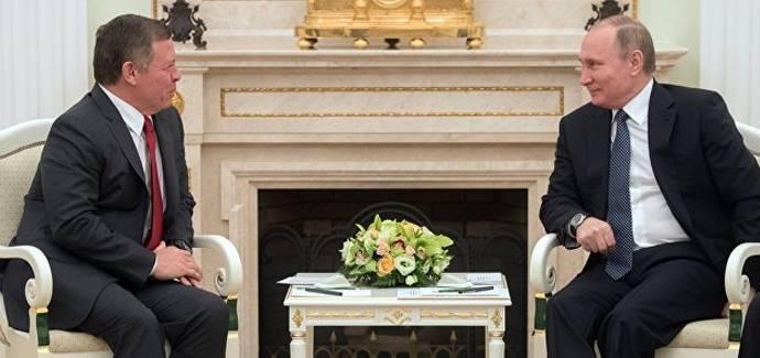 Король Иордании призывает к диалогу с Россией