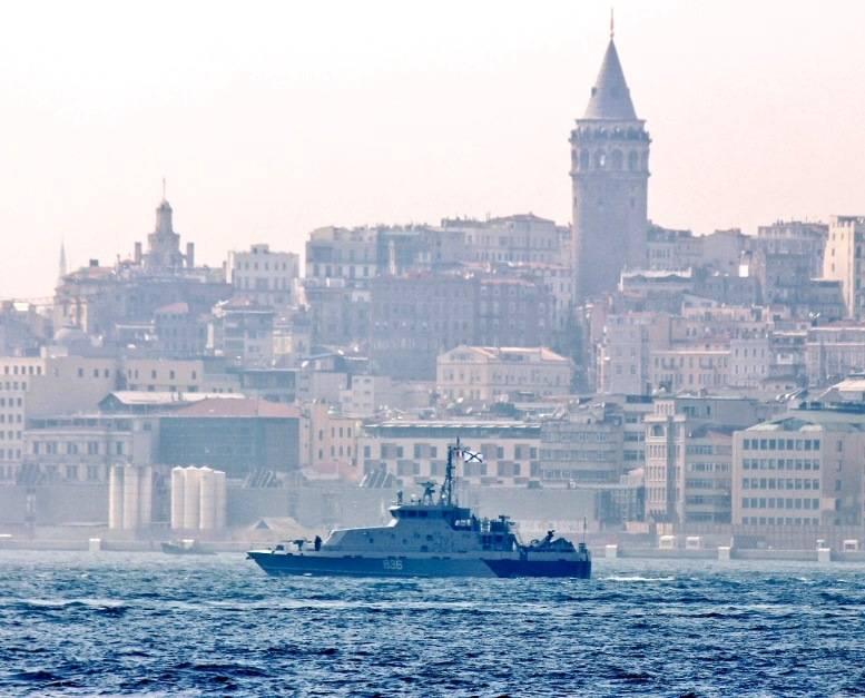 «Грачонок» направляется к берегам Сирии