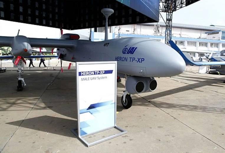 Индия получит заказанные в Израиле БЛА «Херон TP» этим летом