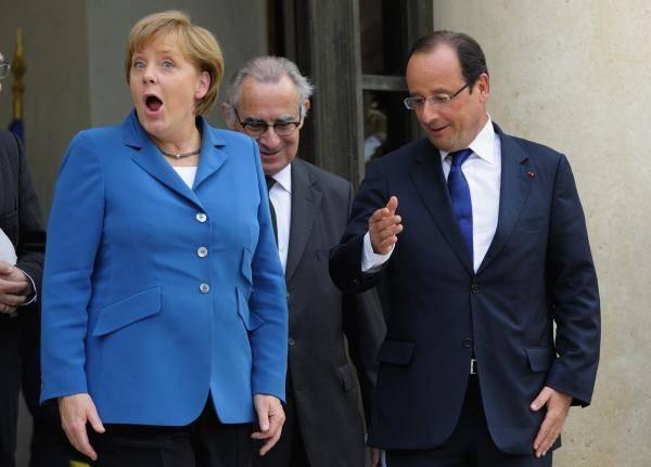 Меркель и Олланд требуют введения санкций против Сирии