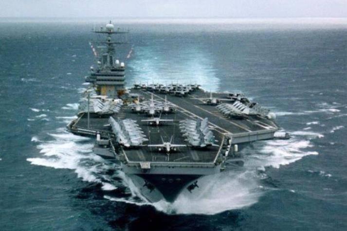 К Корейскому полуострову отправится ударная группа американских ВМС