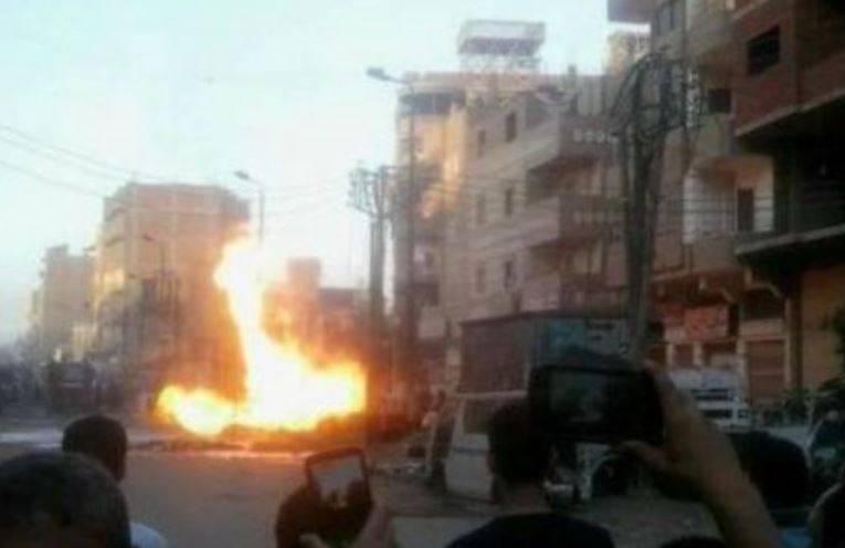Возле церкви в египетской Танте прогремел мощный взрыв