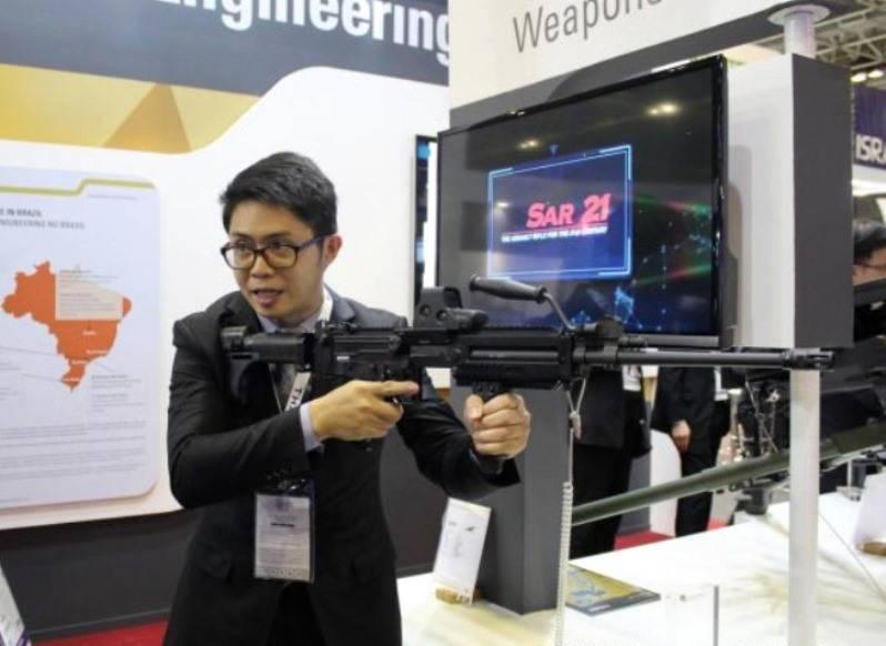 «Лучший в мире пулемёт» от сингапурской компании ST Kinetics