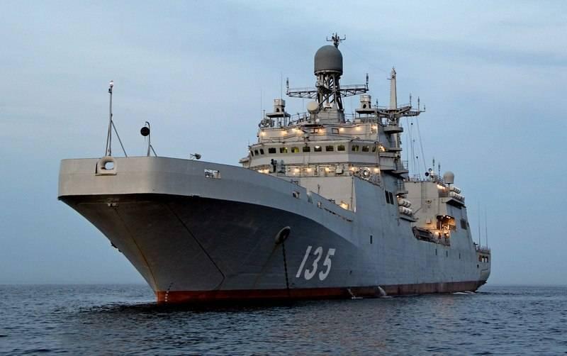 Десантный «Иван Грен» готовится пополнить ряды ВМФ России