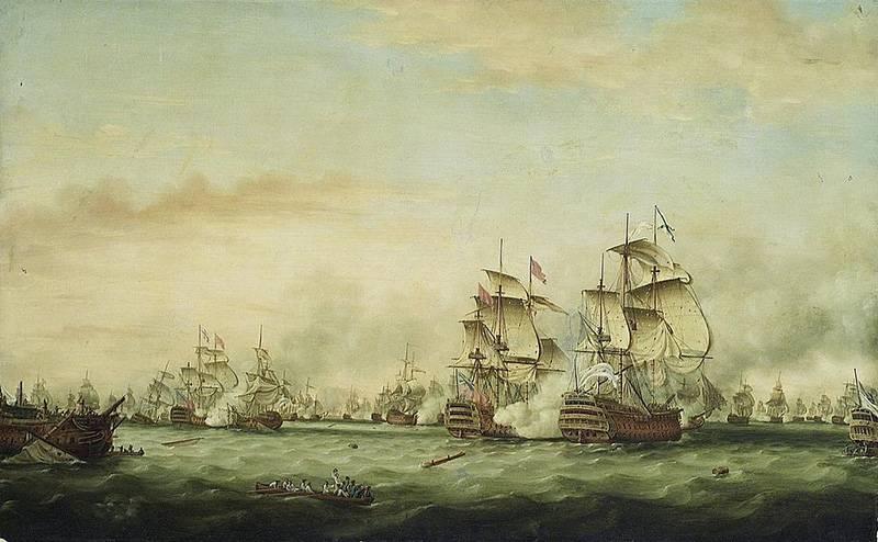 Проигранная война Старого Света, или Сражение у острова Доминика
