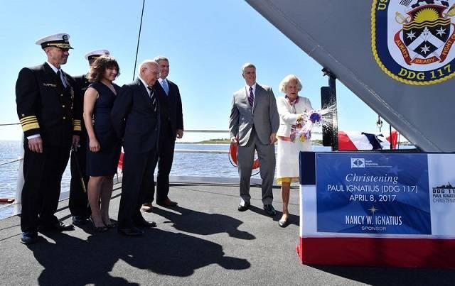 ВМС США приняли 67-й эсминец типа Arleigh Burke