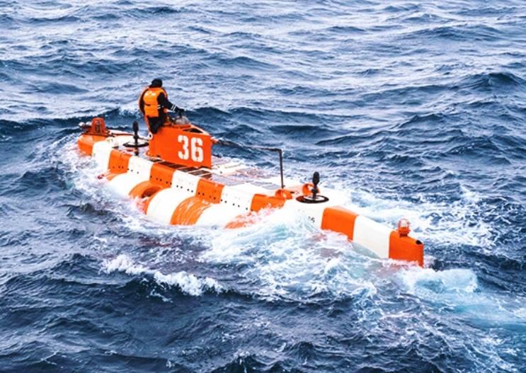 Спасательный аппарат АС-36 отработал задачи в Кольском заливе