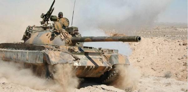 Сирийские танки прорываются к Дейр-эз-Зору
