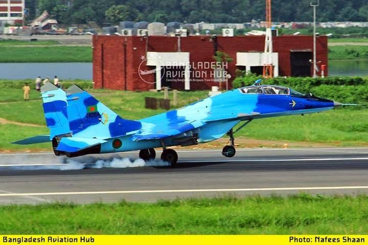 Индия выделяет деньги Бангладеш на ремонт МиГ-29 и закупку МиГ-35