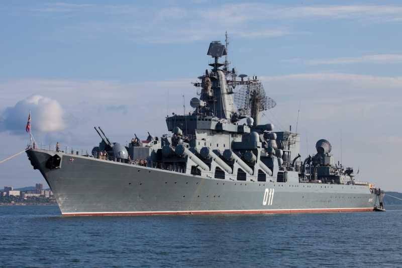 """Ракетный крейсер """"Варяг"""" прибыл в южнокорейский Пусан"""